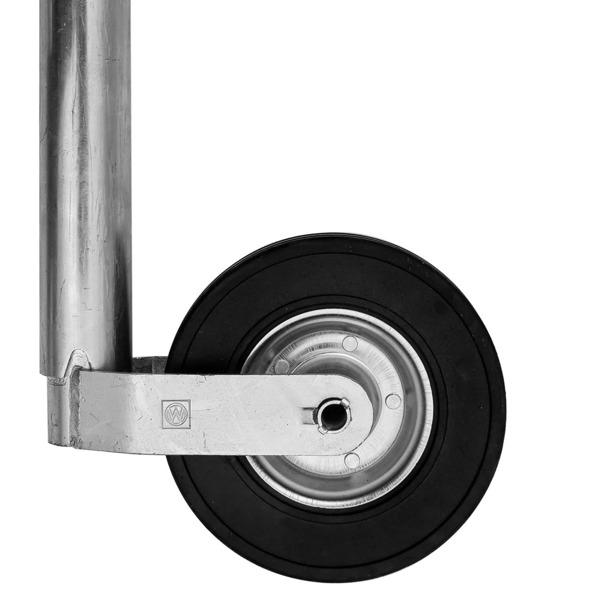 Sæt: Støttehjul ST 60-255 SB Winterhoff og klembøjle 60 Winterhoff