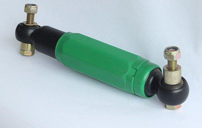 Sæt: støddæmper med beslag AL-KO Octagon 900 -1600 kg grøn