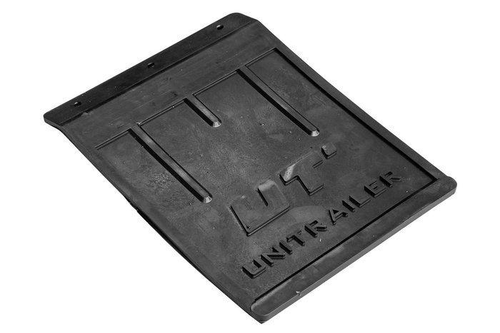 Stor gummi stænklap med bukket kant UNITRAILER